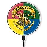 Cargador inductivo Original y Oficial de Harry Potter, Cargador inalámbrico para teléfono o Tableta, estación de Carga, Carga inalámbrica, USB, 2 A, 10 W