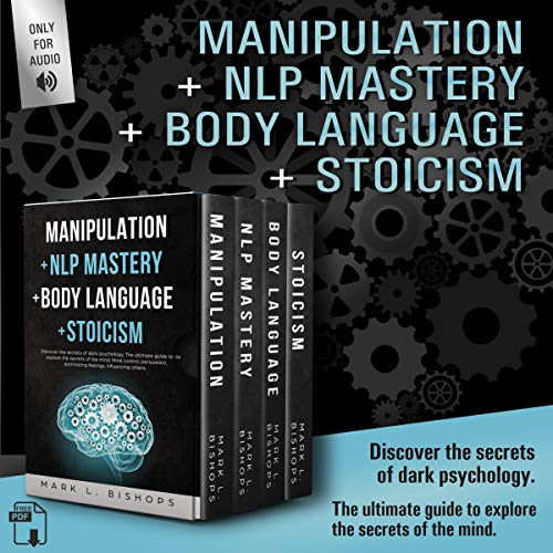 Manipulation + NLP Mastery + Body Language + Stoicism cover art