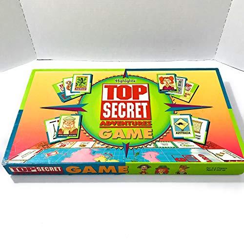 Highlights Top Secret Adventures