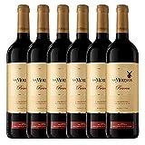 Los Molinos Reserva Tinto D. O. Valdepeñas Vino - Paquete de 6 x 750 ml - Total: 4500 ml