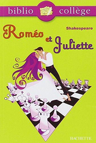 BIBLIOCOLLEGE - Roméo et Juliette - n° 71