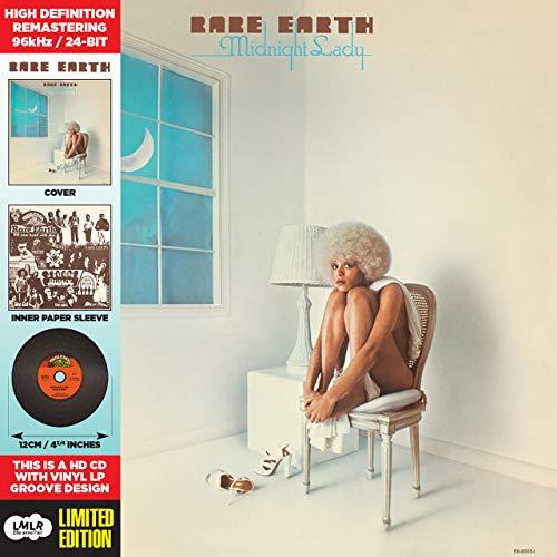 Midnight Lady-Cardboard Sleeve-High-Definition CD Deluxe Vinyl Replica
