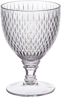 Kinto Wine Glass Rosette Clear 22825 from Japan