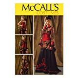 McCall Pattern Company M6911 Misses' Bolero, Corset, Skirt and Overskirt Sewing Template, Size A5