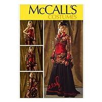 【McCall】コスチュームの型紙セット サイズ:US6-8-10-12-14 *6911