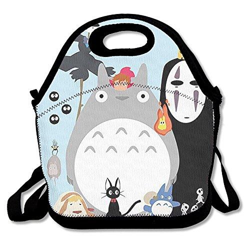 superww Totoro y No-Face bolsa para el almuerzo Tote...