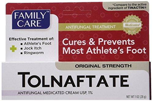 2 Pack Tolnaftate Cream USP 1% Antifungal Athlete's Foot Compare to Tinactin-1 OZ