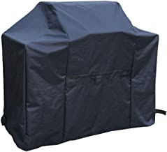 YLYWCG Grill Cover 600D Oxford Fabric, 148x61x122cm, Waterproof, Dust-Proof, Anti-UV BBQ Grill Cover (Color : Black, Size : 148x61x122cm)