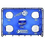 Best Sporting - But de football avec cage murale, 5 trous, 40 cm