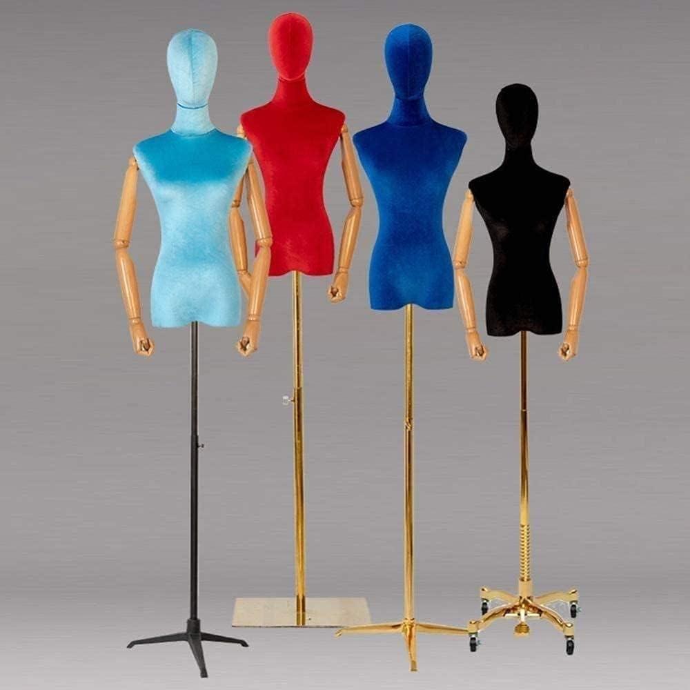 Max 68% OFF EIIDJFF Gorgeous Mannequin Body Dress Form Tailor Adjustable Height Dummy