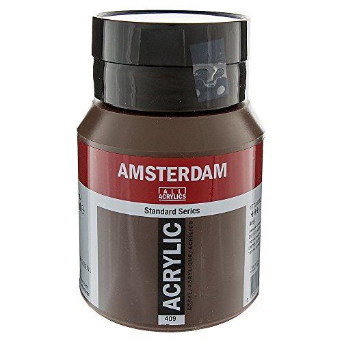 Amsterdam Acryl Kleur 500ml fles BURNT UMBER