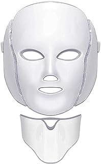 WISHLTZYF De 7-kleuren LED thuis gezicht en nek schoonheid instrument huidverjonging masker photorejuvenation is geschikt ...