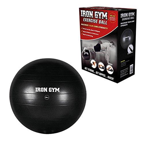 Iron Gym Gymnastikball, Exercise Ball, 65cm