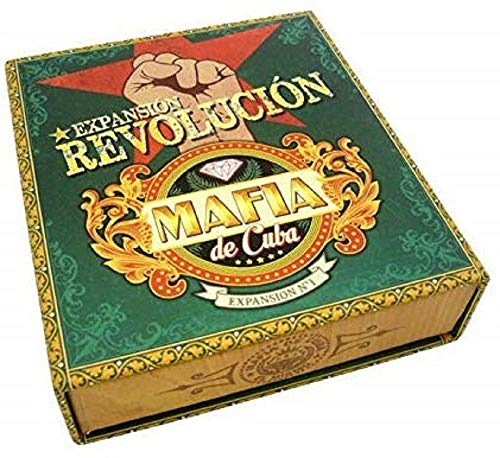 Asmodee ASMLMMAF02US - Mafia de Cuba Revolucion, Kartenspiel