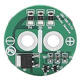 Scheda di limite di tensione,JadpesScheda di protezione del condensatore Super Farad da 2,5 V, scheda di equilibrio della protezione della batteria al litio del condensatore Supe