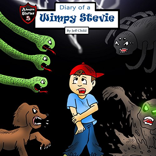 Diary of a Wimpy Stevie audiobook cover art