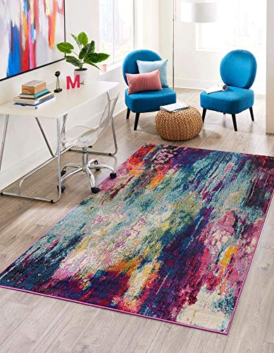 Best cheap colorful rugs
