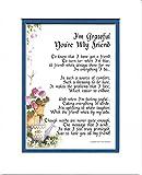 Genie's Poems - Friend Poem - Friend Verse - Friend Print - Friend Saying - Friendship Poem - Friend Gift - Friend 30th 40th 50th 60th Birthday Present