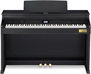 Casio Celviano AP-700BK 88 Keys Digital Piano with Lesson Function, AiR Grand Sound Source, Tri-sensor Scaled Hammer Action Keyboard II and 30W30W (2-Way, 6-Speaker)