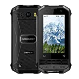 CONQUEST F2 Rugged Walkie Talkie Smartphone Android 8.1 Quad Core 3+32GB 4G 3inc