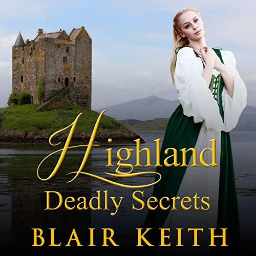 Highland Deadly Secrets audiobook cover art