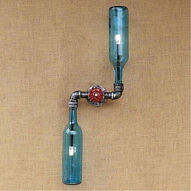 GAG-Spots muraux@ac 220v-240v 6w e27 bgb005 rustique/lodge fonctionnalité de laiton pour ampoule de includedambient appliques murales mur bleu clair