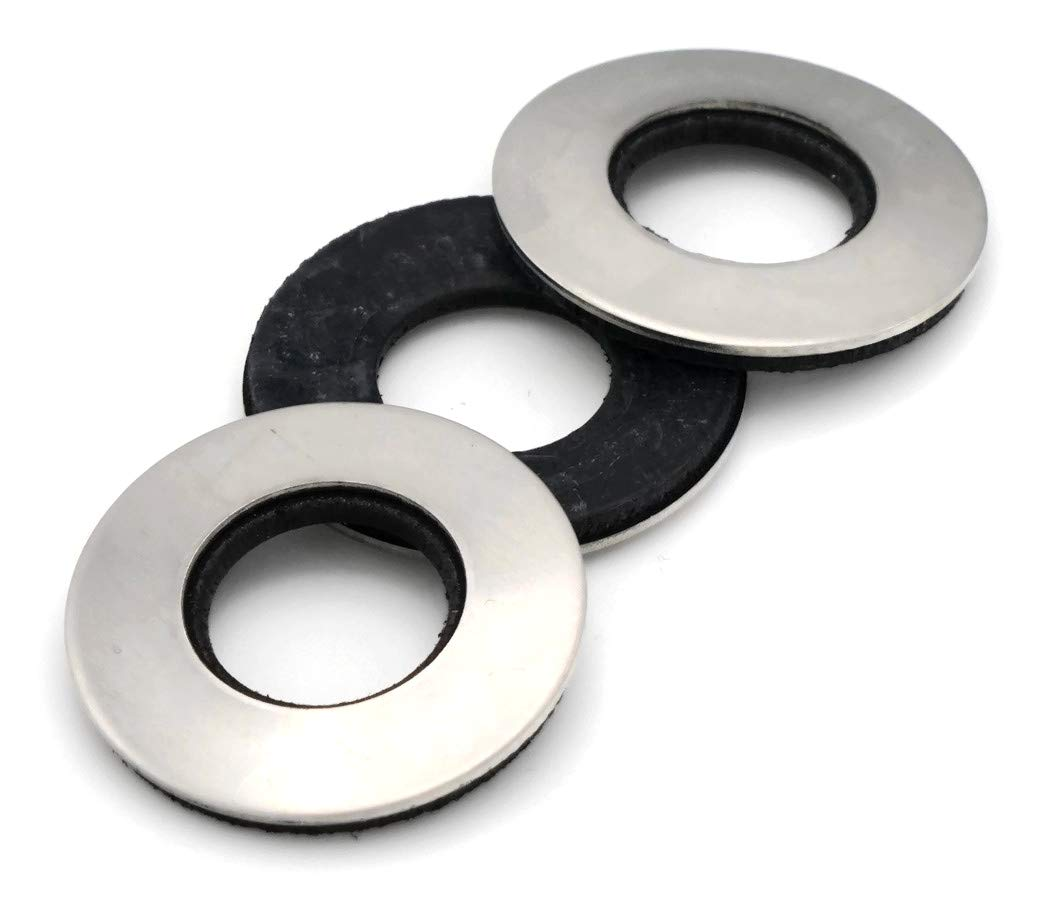 Don't miss Complete Free Shipping the campaign Neoprene EPDM Washers 18 8 SS 3 8