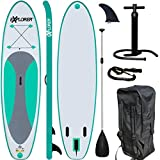 EXPLORER SUP Board Stand Up Paddle Surfboard aufblasbar Paddel ISUP ALF2 300 cm - Best Reviews Guide