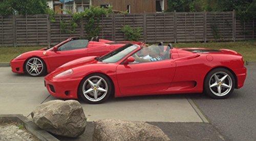 RED DEVIL RACING JETZT MIT 33% RABATT! Erlebnisgeschenk Gutschein 30 Minuten Ferrari selber fahren in Berlin - AUTO BILD getestet!