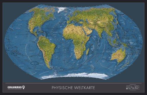 Politische Weltkarte, Planokarte