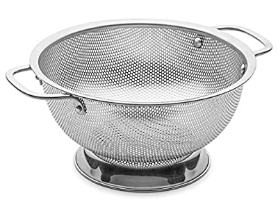 Bellemain Micro-perforated Stainless Steel Colander-Dishwasher Safe