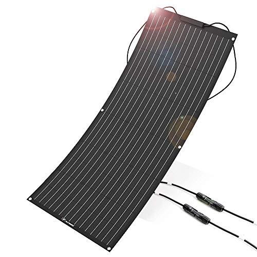 ALLPOWERS Panneau souple 100W, connecteurs ETFE Layer et MC4
