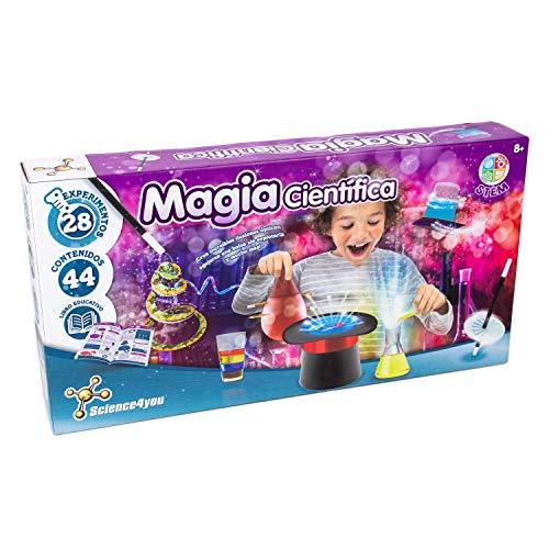 Science4you-5600983615120 Magia Cientifica para Niños +8 Años, Multicolor (80002191)