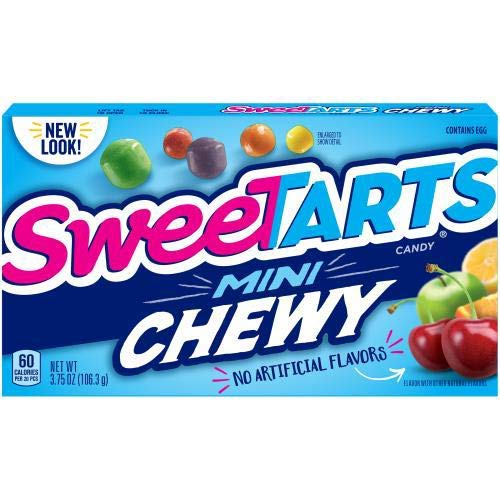 Sweetarts, Mini Chewy Tangy Candy (Pack of 2)