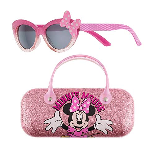 Disney's Minnie Mouse Minnie Sunglasses with Case Set for Toddlers