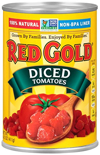 Red Gold Diced Tomatoes, 14.5oz Can (Pack of 12)