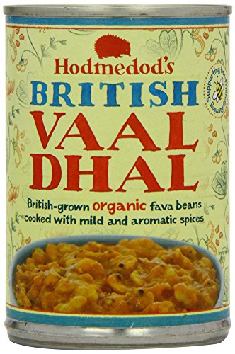 Hodmedod's Great British Beans Vaal Dhal Can 400 g (Pack of 6)