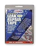Techo Kit de cinta de reparación, 4en x 5m, negro
