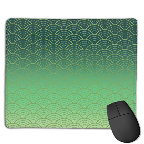 Japanese Pattern Mouse Pad ,HD Bright Colors Gaming Mouse Pad Custom Design Mat