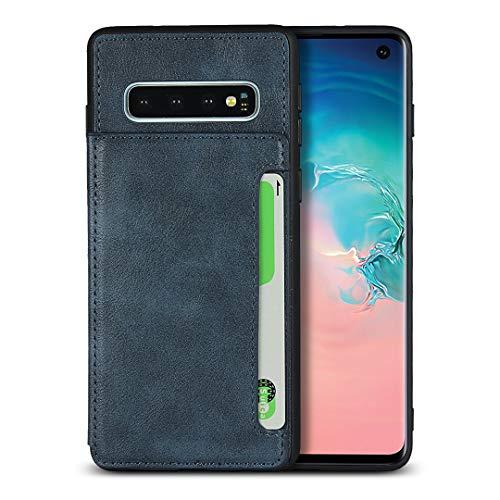 Brieftasche Handyhülle für Samsung Galaxy S10 (Blau)