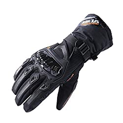 best cold weather adventure motorcycle Waterproof gloves
