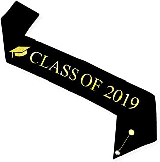 class of 2019 in gold
