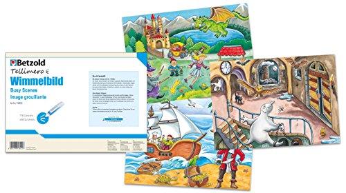 Tellimero 756892 - Wimmelbild - Zubehör Lesestift Kinder Lernspiel Spielzeug