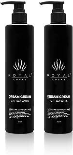 Royal Locks-Dream Cream   Curly Hair Styling Cream   Curl Defining Cream with Argan Oil, Provides Hold & Frizz Control, Fo...
