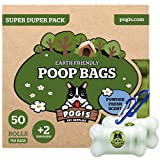 earth-friendly leak-proof pet waste bags, 750 bags and 2 dispensers