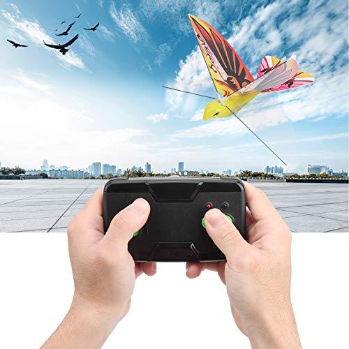 Alomejor Go Go Bird Fernbedienung Flying Bionic Bird Toy 2,4 GHz RC E-Bird Toy für Jungen und Mädchen