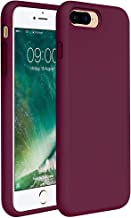 Miracase iPhone 8 Plus Case, iPhone 7 Plus Case, Shockproof Silicone Case with Full Body Protection, Anti-Scratch Microfiber Lining, Drop-protect Rubber phone Case for iPhone 7 Plus/iPhone 8 Plus 5.5