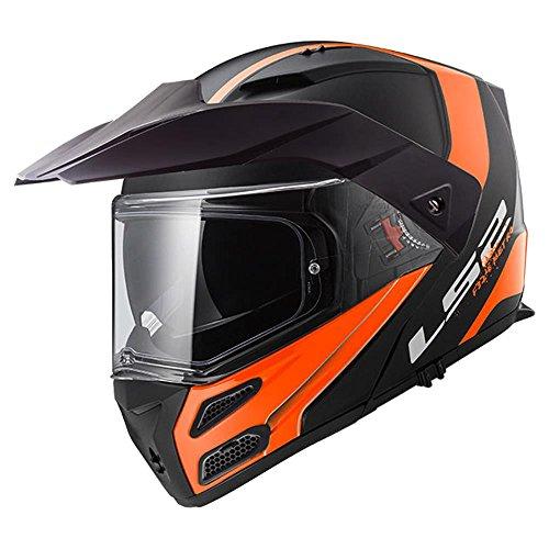 LS2 Motorradhelm METRO EVO RAPID Mat, Schwarz/Gelb, Größe S