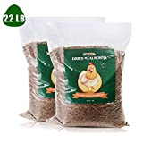 LUCKYQ Dried Mealworms, High-Protein Bulk Mealworms...