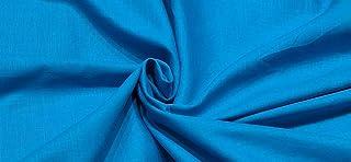 Italian Men's Unstitched Fabric Linen Cotton Shirt Raw Material Piece 1.6 Meter